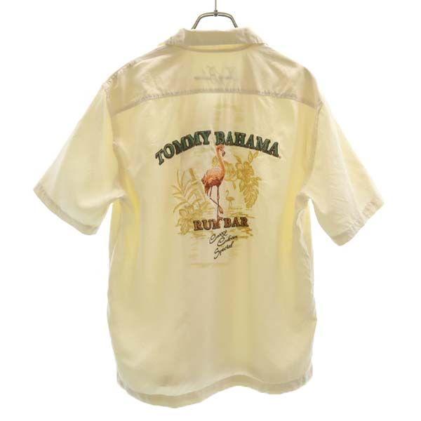 トミーバハマ バック刺繍 シルク 背面
