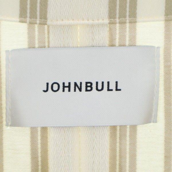未使用 ジョンブル ストライプコ 詳細3